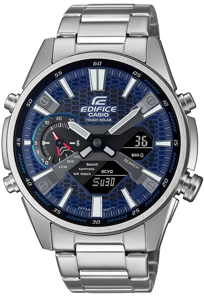 Casio EDIFICE ECB-S100D-2AEF - zegarek męski
