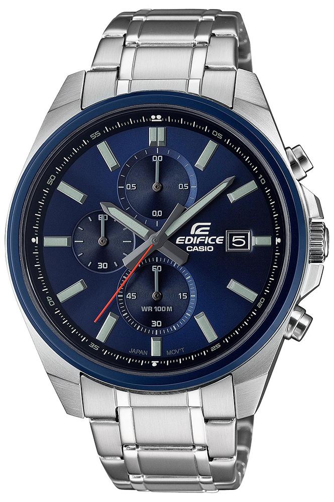 Edifice EFV-610DB-2AVUEF - zegarek męski