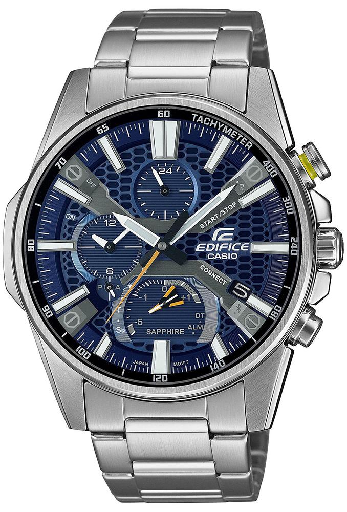 Casio EDIFICE EQB-1200D-2AER - zegarek męski