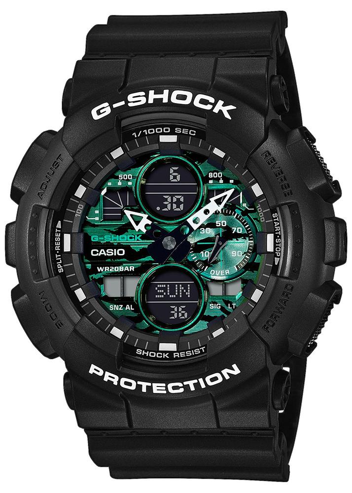 Casio G-SHOCK GA-140MG-1AER - zegarek męski