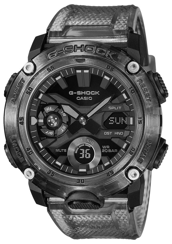 Casio G-SHOCK GA-2000SKE-8AER - zegarek męski