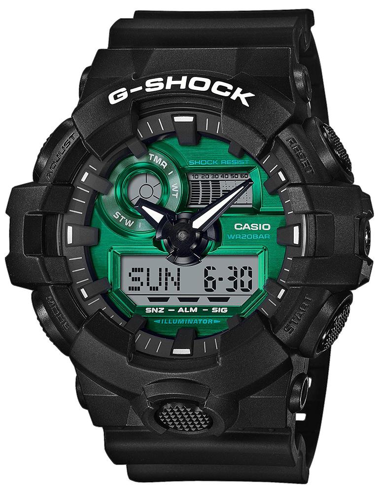 Casio G-SHOCK GA-700MG-1AER - zegarek męski