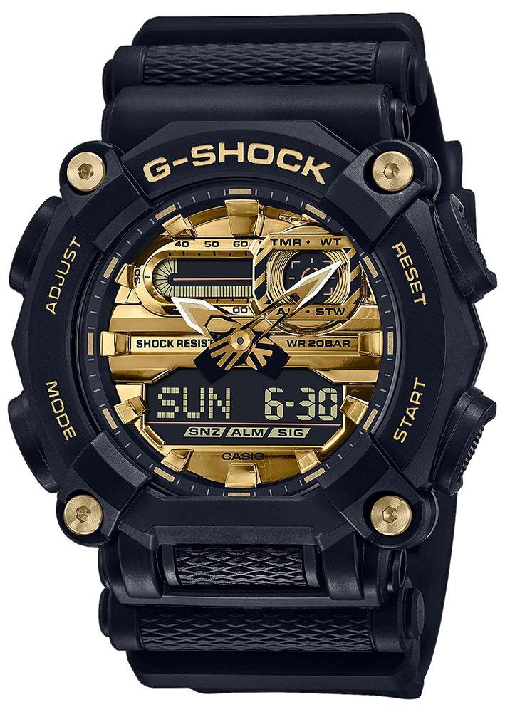 Casio G-SHOCK GA-900AG-1AER - zegarek męski