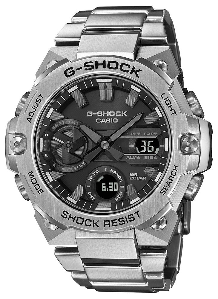 Casio G-SHOCK GST-B400D-1AER - zegarek męski