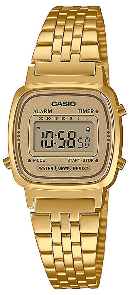 Casio Vintage LA670WETG-9AEF - zegarek damski