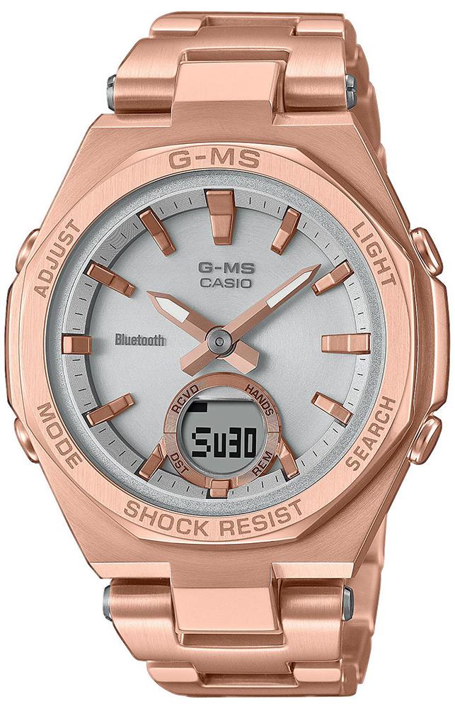 Casio Baby-G MSG-B100DG-4AER - zegarek damski