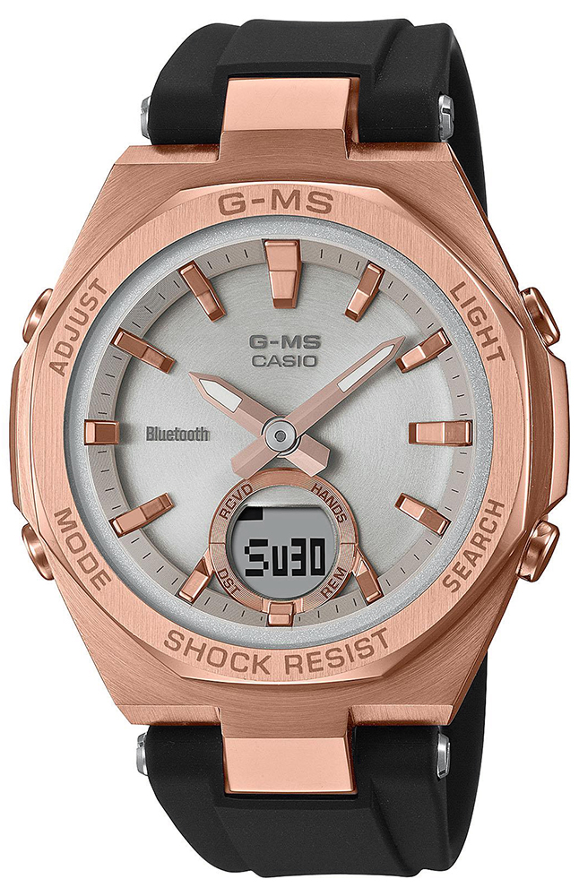 Casio Baby-G MSG-B100G-1AER - zegarek damski