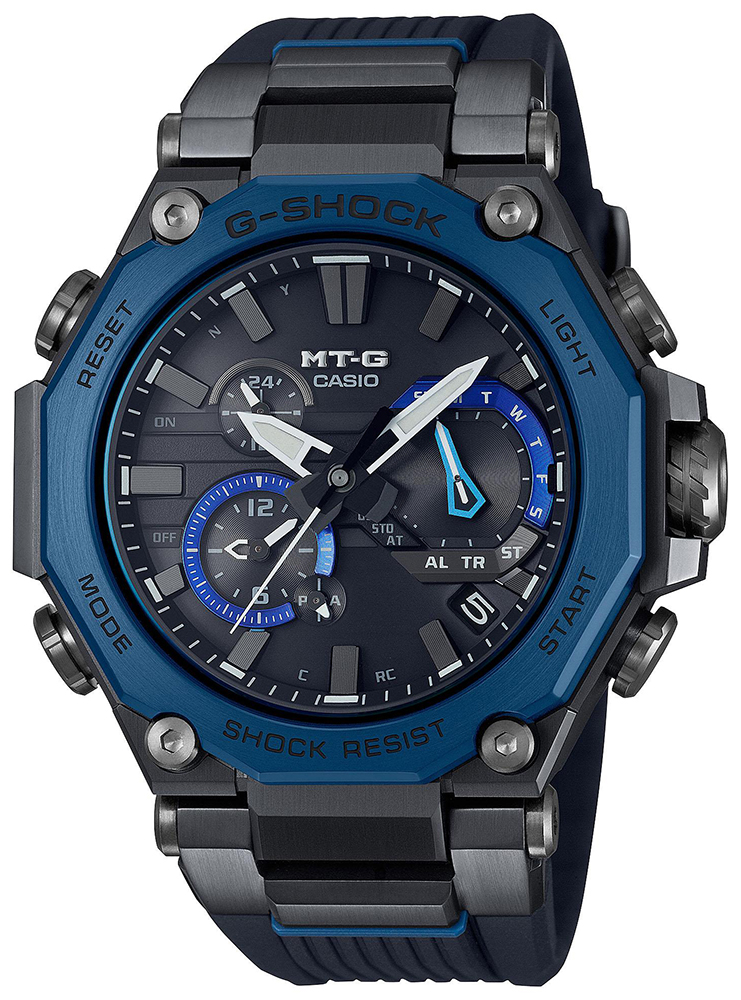 Casio G-SHOCK MTG-B2000B-1A2ER - zegarek męski