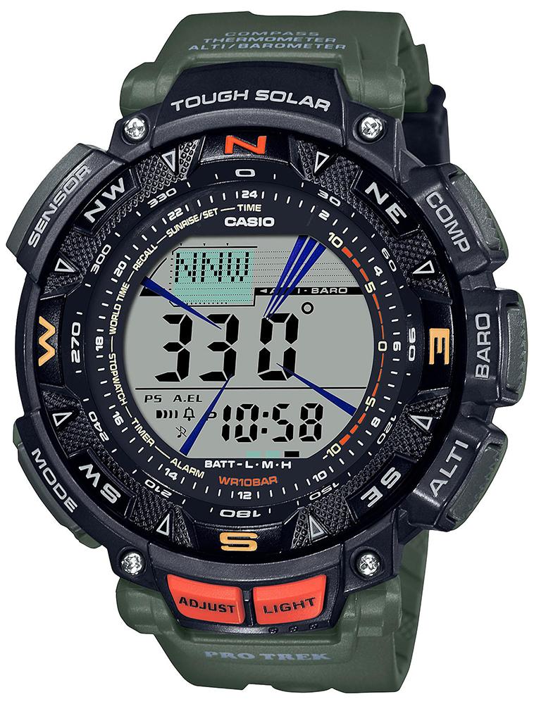 Casio ProTrek PRG-240-3ER - zegarek męski