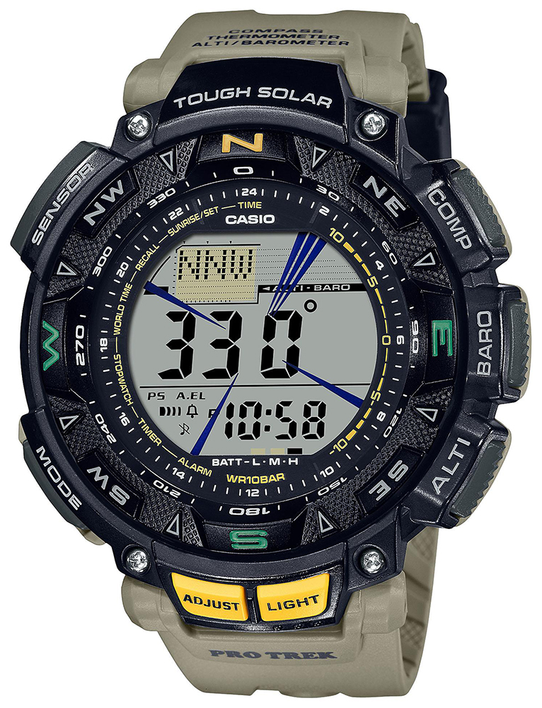 ProTrek PRG-240-5ER - zegarek męski