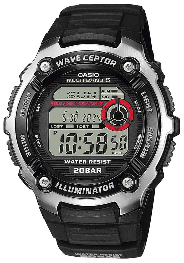 Casio WV-200R-1AEF - zegarek męski