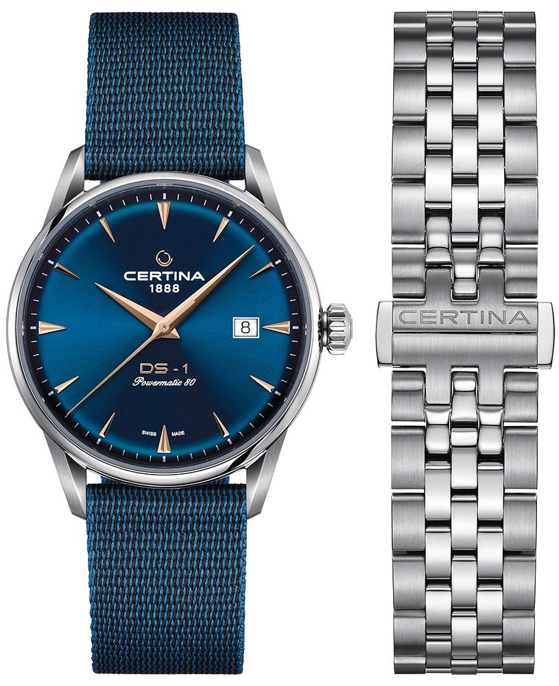 Certina C029.807.11.041.02 - zegarek męski