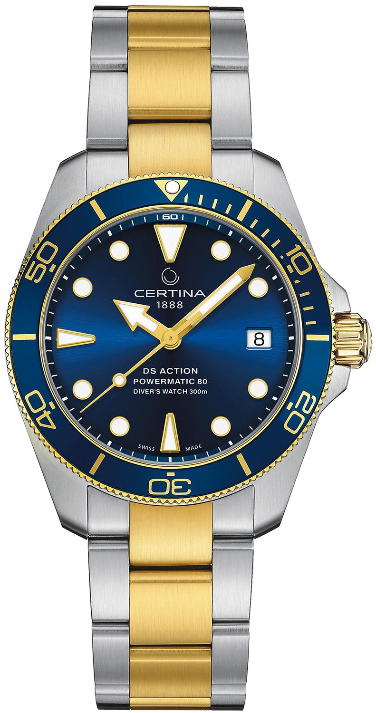 Certina C032.807.22.041.10 - zegarek męski