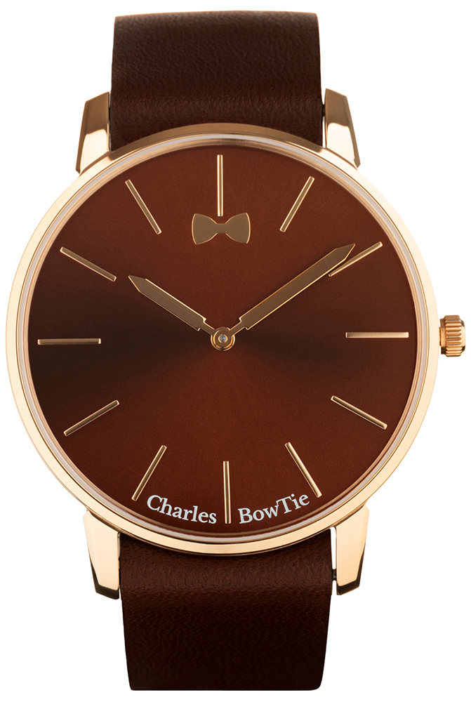 Charles BowTie RIBLG.N - zegarek unisex