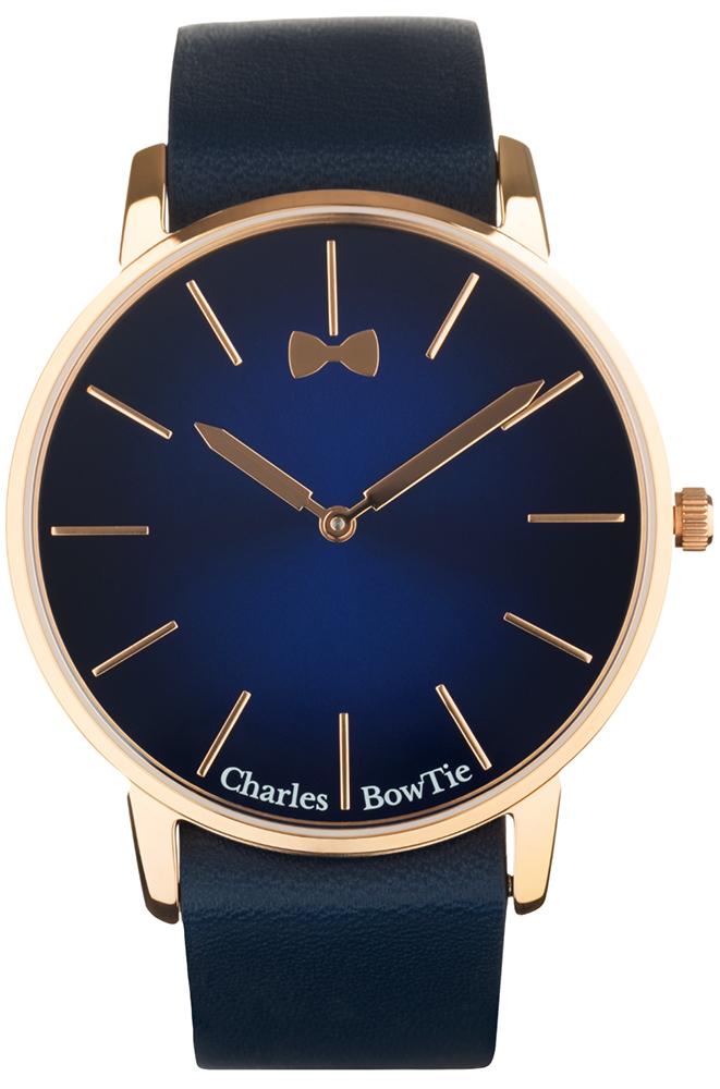 Charles BowTie WEBLG.N - zegarek unisex