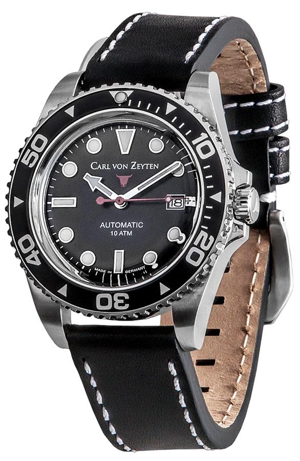 Carl von Zeyten CVZ0030BK - zegarek męski