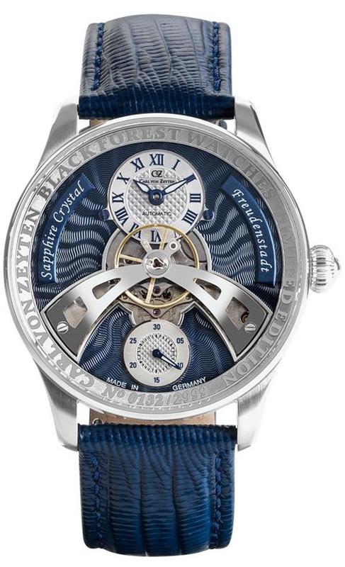 Carl von Zeyten CVZ0043BL - zegarek męski
