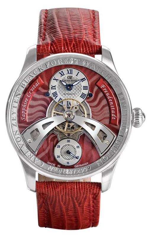 Carl von Zeyten CVZ0043RD - zegarek męski