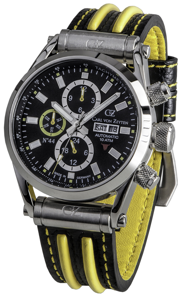 Carl von Zeyten CVZ0044BKYL - zegarek męski