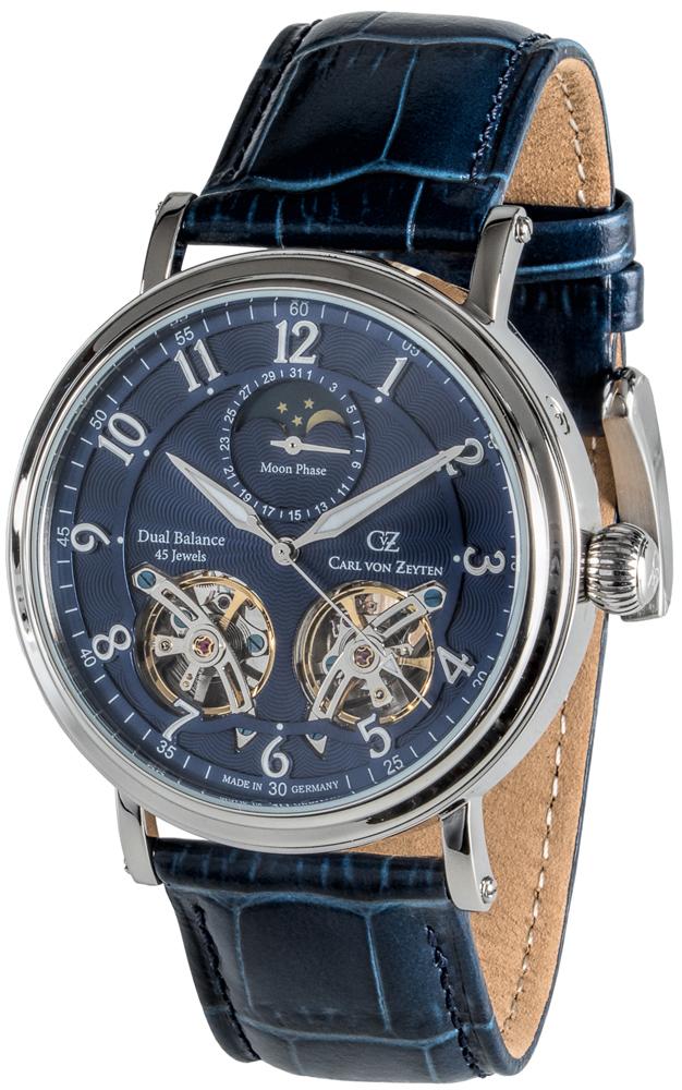 Carl von Zeyten CVZ0054BLS - zegarek męski