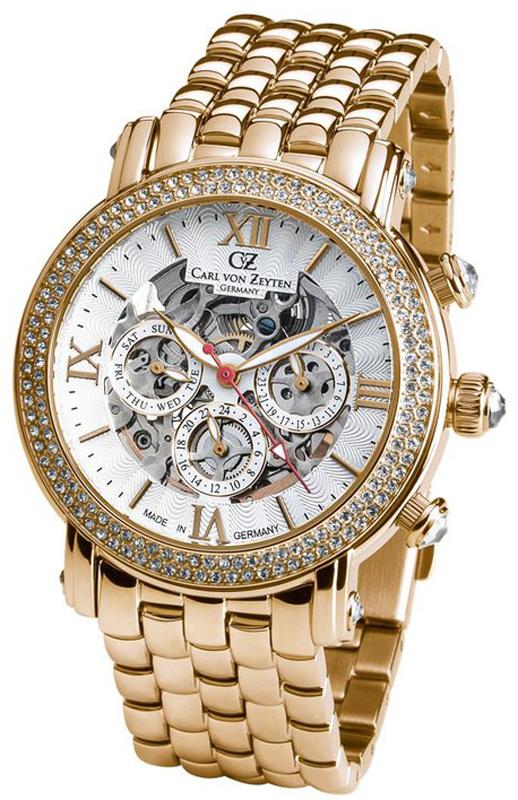 Carl von Zeyten CVZ0062GWHM - zegarek damski