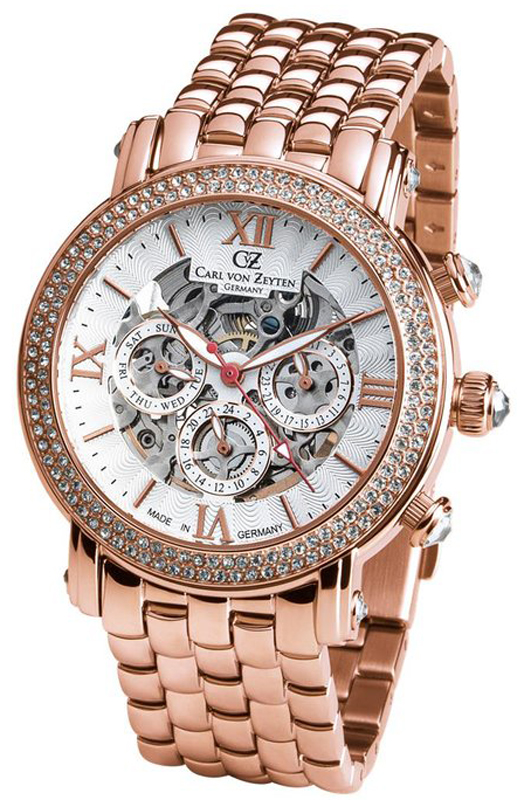 Carl von Zeyten CVZ0062RWHM - zegarek damski