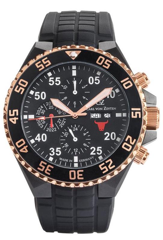 Carl von Zeyten CVZ0067RBK - zegarek męski