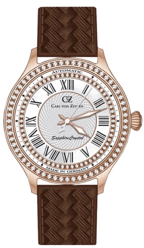 Carl von Zeyten CVZ0068RWH - zegarek damski