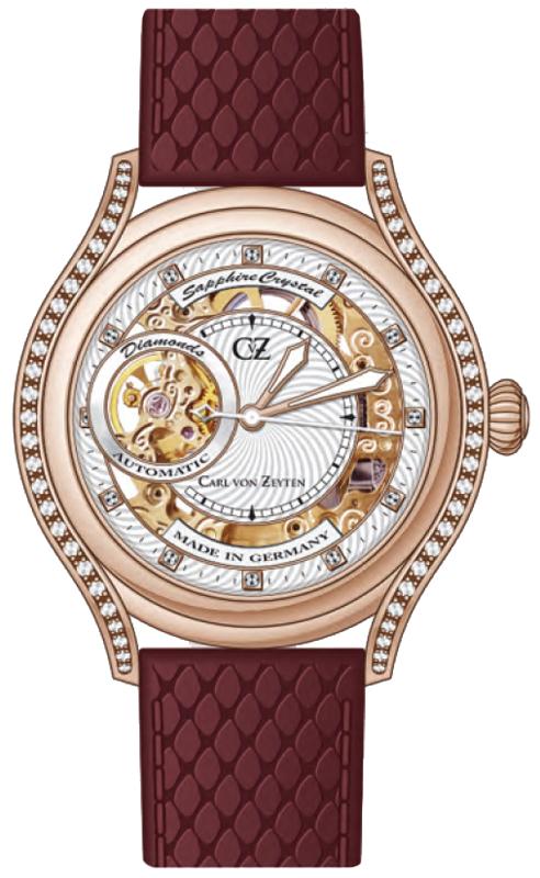 Carl von Zeyten CVZ0069RWH - zegarek damski