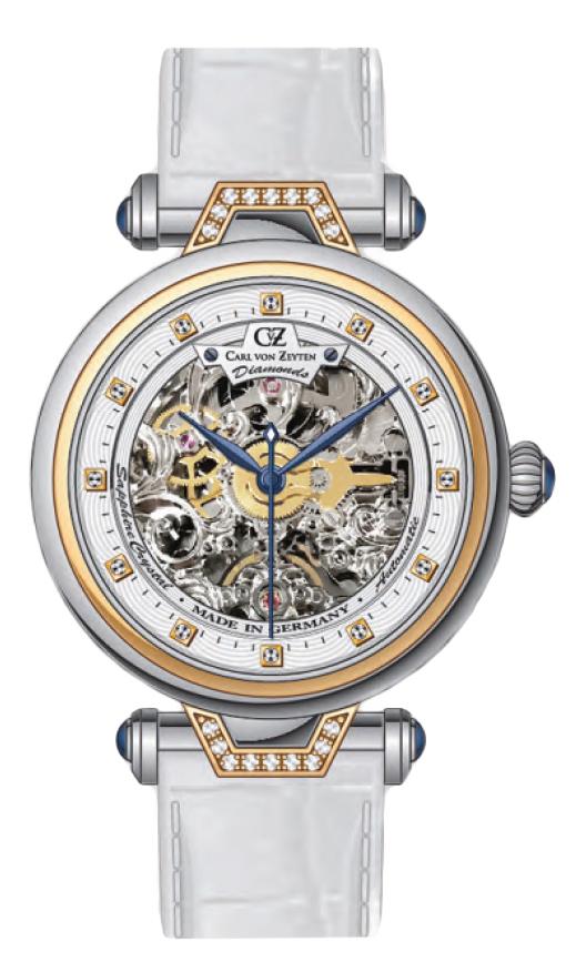Carl von Zeyten CVZ0070RWH - zegarek damski