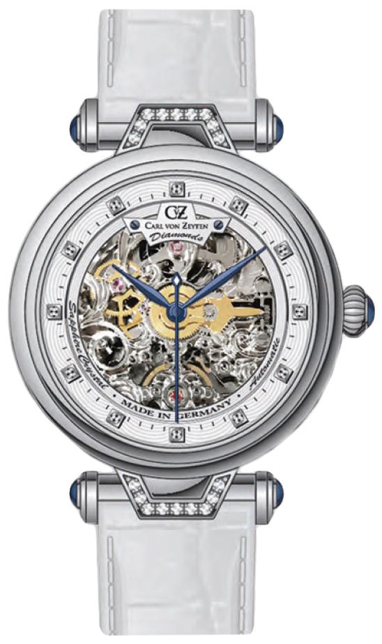Carl von Zeyten CVZ0070WH - zegarek damski