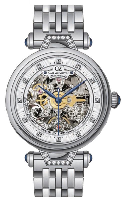 Carl von Zeyten CVZ0070WHMB - zegarek damski