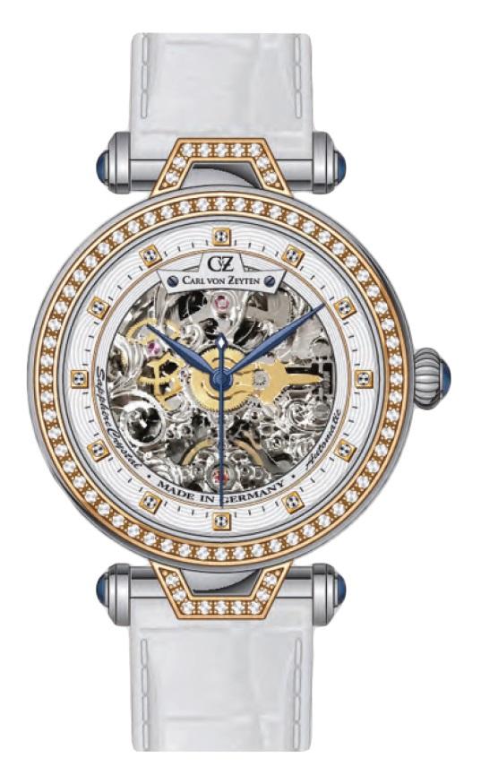 Carl von Zeyten CVZ0071RWH - zegarek damski
