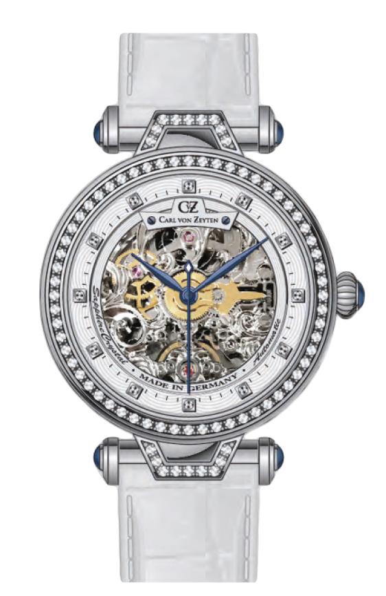 Carl von Zeyten CVZ0071WH - zegarek damski