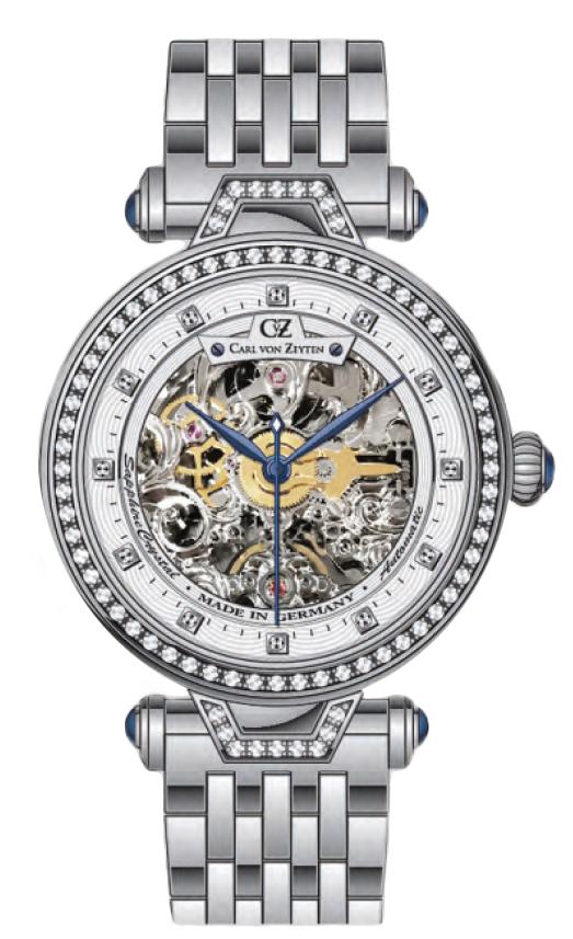 Carl von Zeyten CVZ0071WHMB - zegarek damski