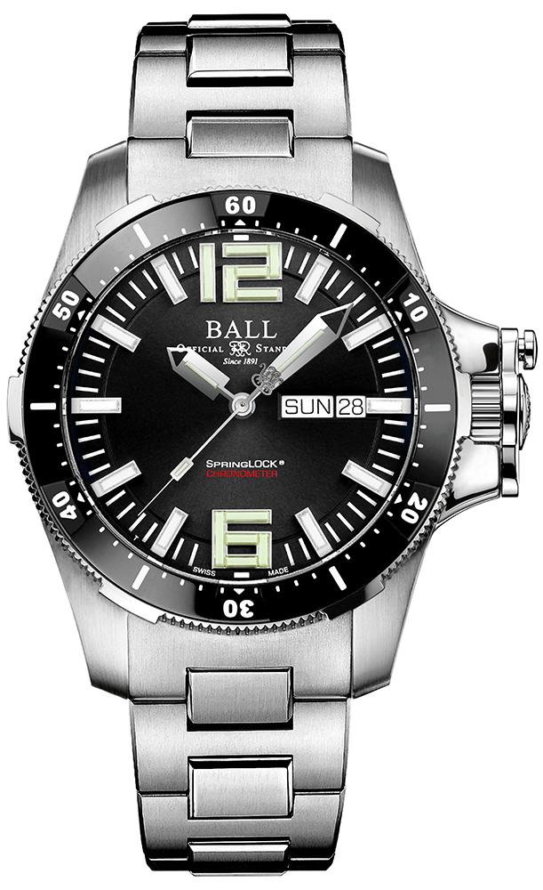 Ball DM2076C-S2CA-BK - zegarek męski