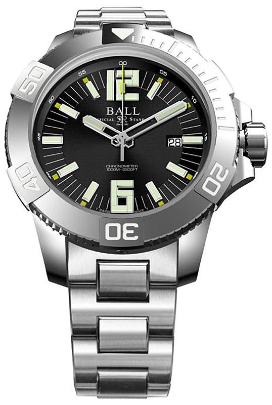 Ball DM3002A-SC-BK - zegarek męski