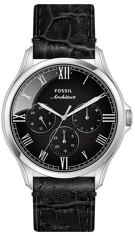 Fossil FS5802 - zegarek męski