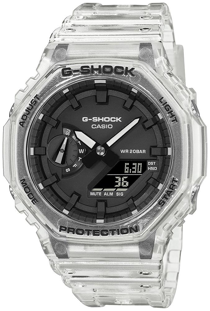 Casio G-SHOCK GA-2100SKE-7AER - zegarek męski