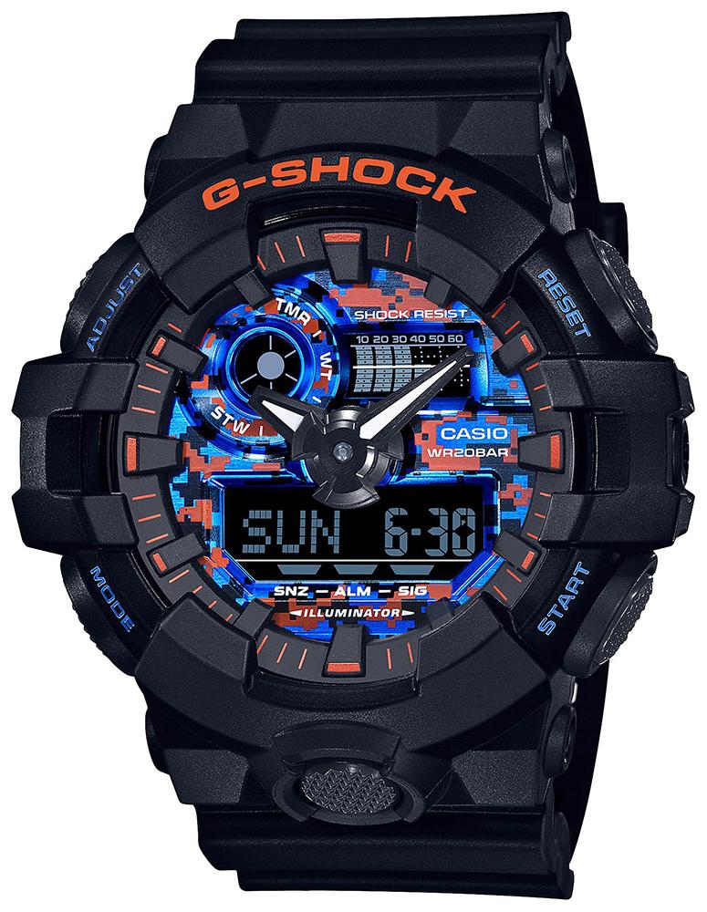 G-Shock GA-700CT-1AER - zegarek męski