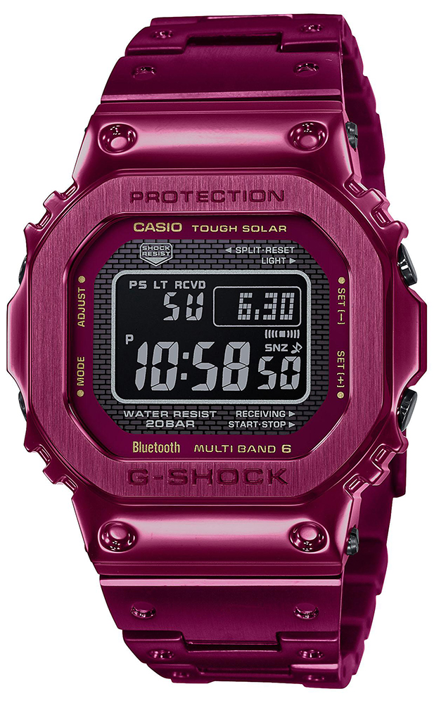 G-SHOCK GMW-B5000RD-4ER - zegarek męski