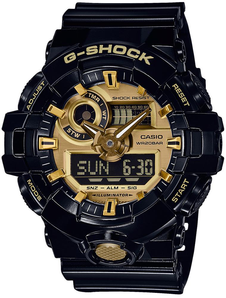 G-SHOCK GA-710GB-1AER - zegarek męski