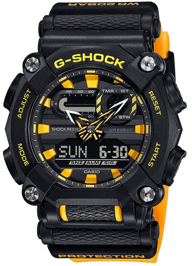 G-SHOCK GA-900A-1A9ER - zegarek męski