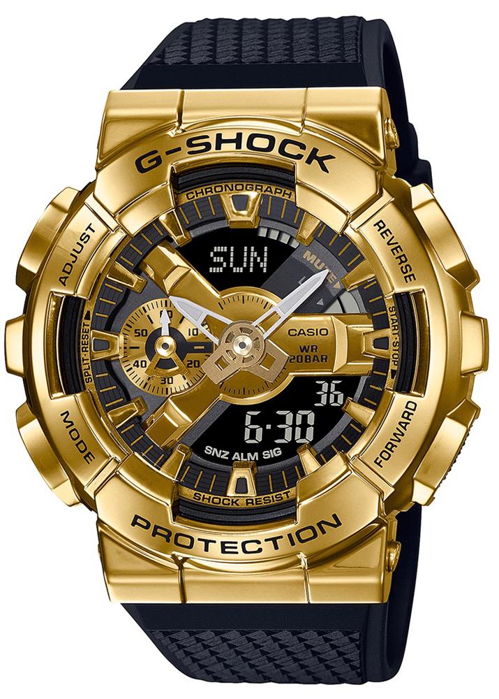 Casio G-SHOCK GM-110G-1A9ER - zegarek męski