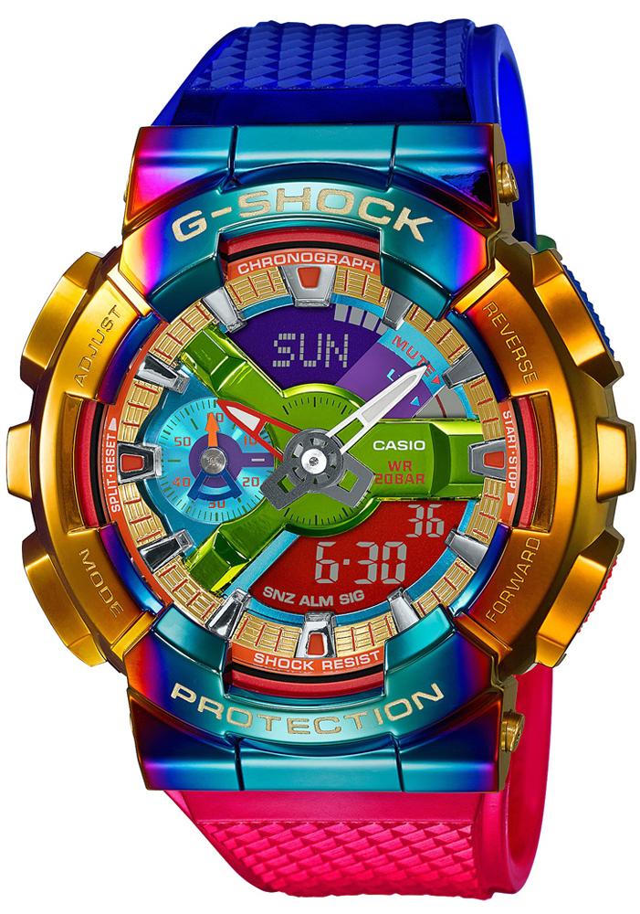 G-SHOCK GM-110RB-2AER - zegarek męski