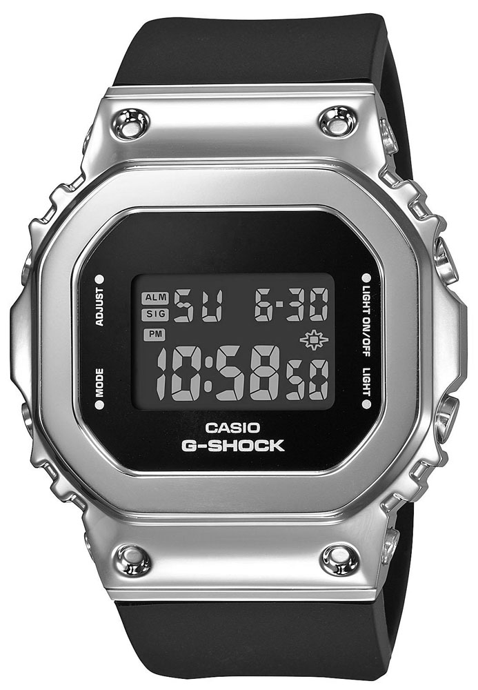 G-SHOCK GM-S5600-1ER - zegarek damski