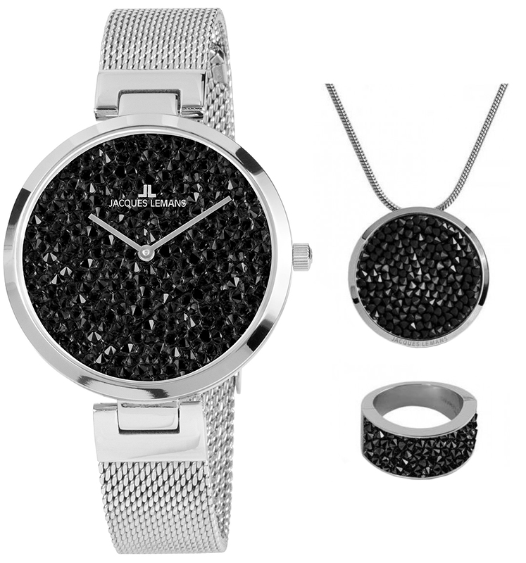 Jacques Lemans 1-2035G-SET56 - zegarek damski