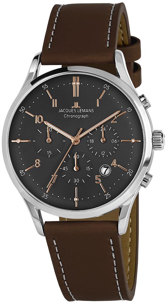 Jacques Lemans 1-2068O - zegarek męski