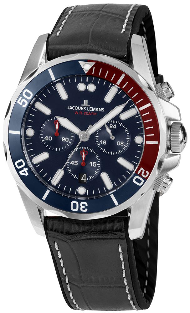 Jacques Lemans 1-2091B - zegarek męski