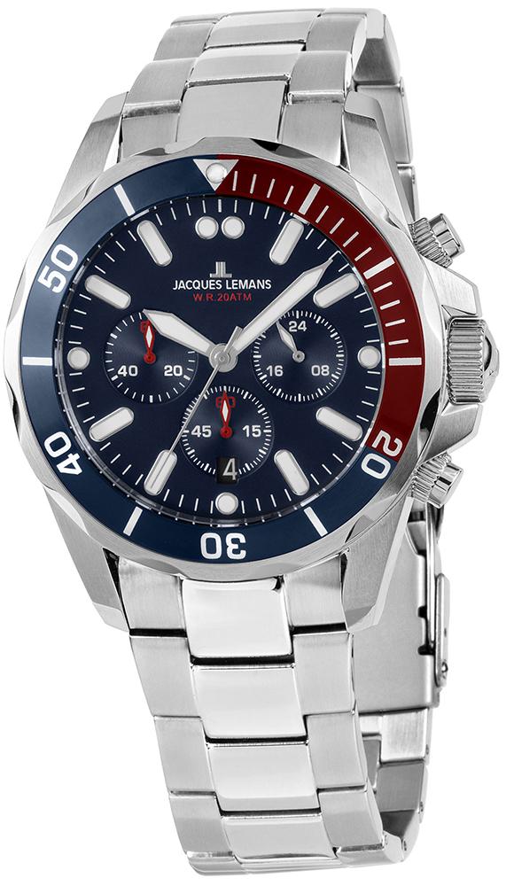 Jacques Lemans 1-2091G - zegarek męski